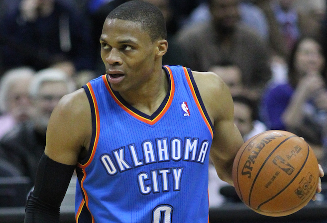 Oklahoma City's Russell Westbrook