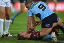 Farah and Cherry-Evans <br /> <a href='http://www.theroar.com.au/2014/06/18/2014-state-origin-game-2-half-time-report-nsw-0-4-queensland/'>2014 State of Origin Game 2 half time report: NSW 0-4 Queensland</a>