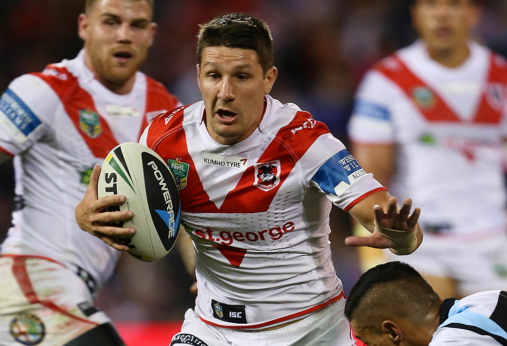 St George Illawarra Dragons player Gareth Widdop
