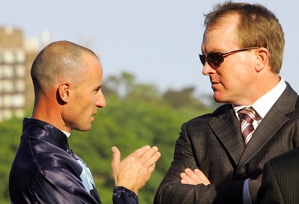 Glen Boss and John O'Shea