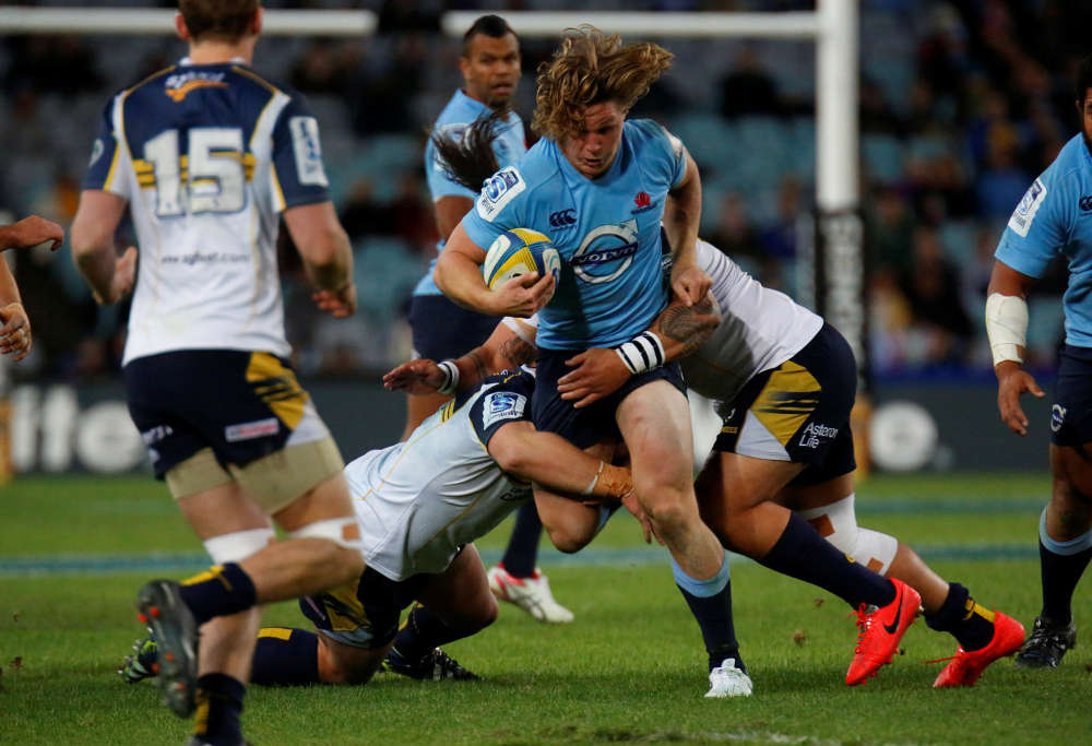 Michael Hooper against the Brumbies (Source: AJF Photography)