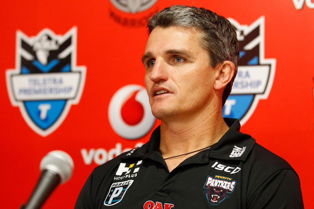 Panthers coach Ivan Cleary. (AAP Image/Action Photographics, Wayne Drought)