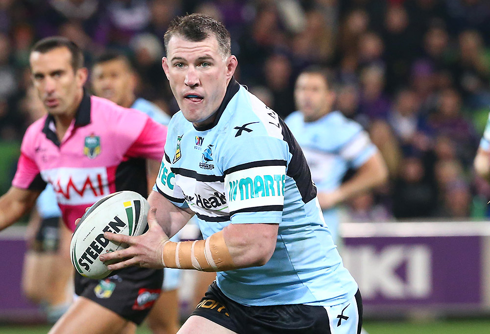 Sharks' Paul Gallen
