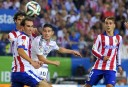 Atletico Madrid face off against cross-town rivals Real Madrid in the Champions League. (AFP PHOTO/ DANI POZO).