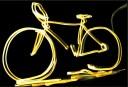 Glow Bike (image/Flicker.com <br /> <a href='http://www.theroar.com.au/2014/10/13/roars-weird-sport-series-black-light-sports/'>The Roar's weird sport series: Black light sports</a>