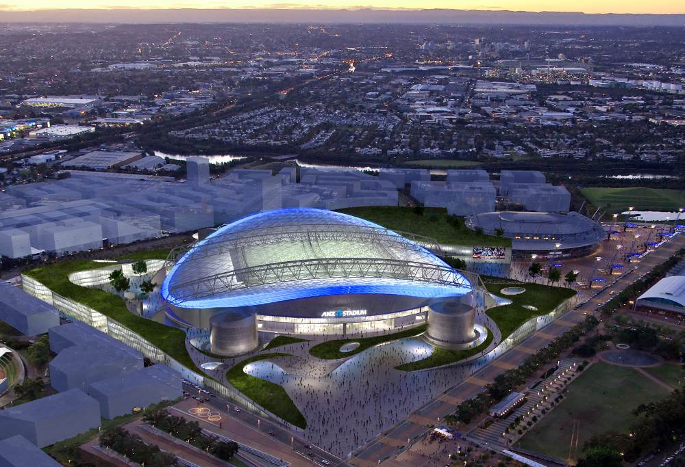 The new ANZ Stadium (Image: ANZ Stadium)