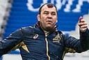 Head coach Michael Cheika <br /> <a href='http://www.theroar.com.au/2014/11/16/international-rules-biff-aussies/'>No International Rules biff for the Aussies</a>