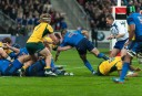 French halfback dives for the Wallabies tryline (Image. Tim Anger) <br /> <a href='http://www.theroar.com.au/2014/11/28/rwc-2015-discipline-boot-breakdown/'>RWC 2015: Discipline, the boot and the breakdown</a>