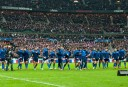 French team walks to position following the national anthem (Image. Tim Anger) <br /> <a href='http://www.theroar.com.au/2014/11/28/rwc-2015-discipline-boot-breakdown/'>RWC 2015: Discipline, the boot and the breakdown</a>