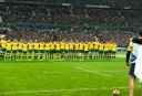 Wallabies sing the national anthem during end of year tour (Image. Tim Anger) <br /> <a href='http://www.theroar.com.au/2014/11/28/rwc-2015-discipline-boot-breakdown/'>RWC 2015: Discipline, the boot and the breakdown</a>