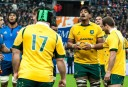 Wallaby lock Will Skelton in the lineout against France (Image. Tim Anger) <br /> <a href='http://www.theroar.com.au/2014/11/28/rwc-2015-discipline-boot-breakdown/'>RWC 2015: Discipline, the boot and the breakdown</a>