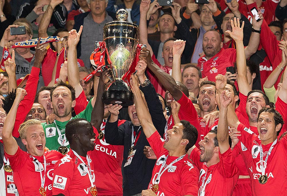 FFA Cup winners Adelaide United