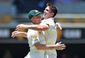 DIZZY: Marsh brothers to answer critics in first Test