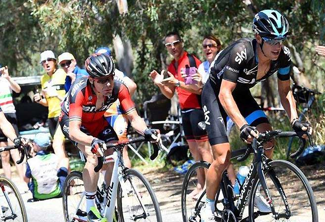 Photo: The Tour Down Under was another success, as we wave goodbye to Cadel Evans. (Image: Team Sky).