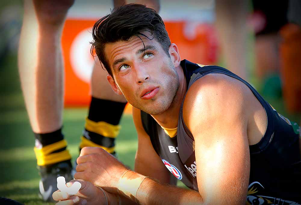 Alex Rance of the Richmond Tigers
