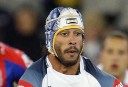 Johnathan Thurston tackled by Newcastle Knights