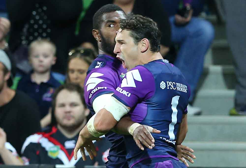 Marika Koroibete and Billy Slater