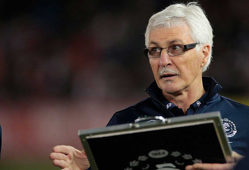 Carlton coach Mick Malthouse