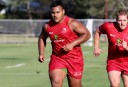 Taniela Tupou will come off the bench in the Reds' preseason trial against the Crusaders. (Source: Queensland Reds)
