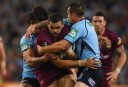 Inglis is tackled in Origin I <br /> <a href='http://www.theroar.com.au/2015/05/27/state-of-origin-2015-game-1-in-images-and-video/'>State of Origin 2015: Relive Game 1 in images and video</a>
