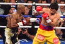 Floyd Mayweather Jr and Manny Pacquiao <br /> <a href='http://www.theroar.com.au/2015/05/04/mayweather-becomes-unified-champ-with-ud-win-over-pacquiao/'>Mayweather becomes unified champ with UD win over Pacquiao</a>