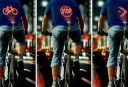 Is projecting signals onto your back as you cycle a fresh safety idea?