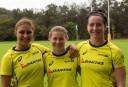Australia's womens Sevens players <br /> <a href='http://www.theroar.com.au/2015/07/06/ella-australias-pacific-games-sevens-tilt-is-one-to-watch/'>ELLA: Australia's Pacific Games sevens tilt is one to watch</a>