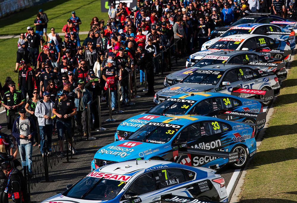 Where to now for V8 Supercars in Australia and motorsport in general? Image: Volvo Polestar