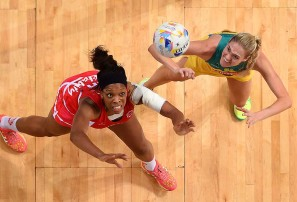 Netball's time to shine