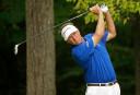 Davis Love III upstages Tiger Woods