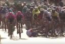 Aussie causes huge crash during Tour of Poland sprint finish