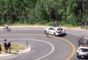Cyclist suffers horror crash during Tour of Utah