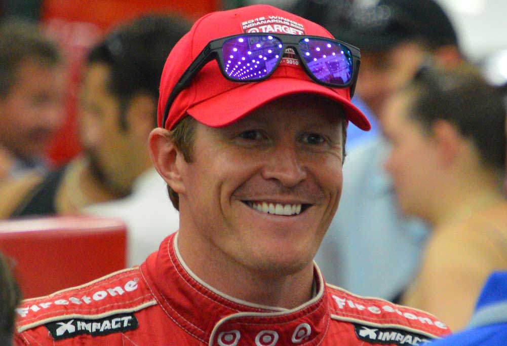 Scott Dixon, New Zealand IndyCar racer