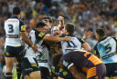 Cowboys Jonathan Thurston celebrates winning the 2015 NRL Grand Final <br /> <a href='http://www.theroar.com.au/2015/10/04/cowboys-trump-broncos-with-goldenpoint-thurston-field-goal/'>Cowboys trump Broncos with golden-point Thurston field goal</a>