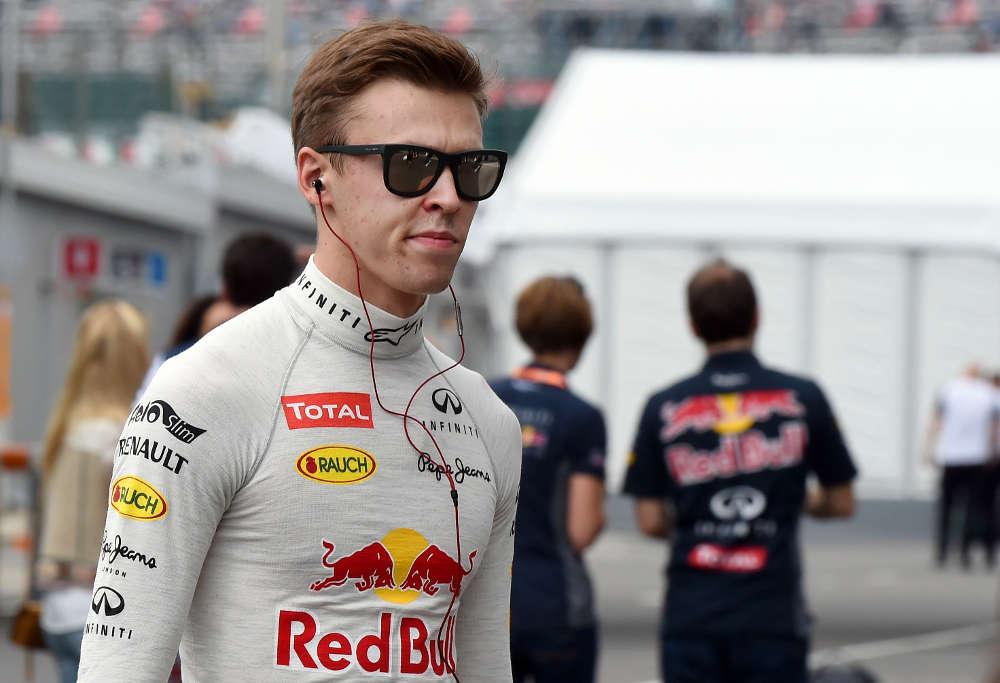 Red Bull's Daniil Kvyat