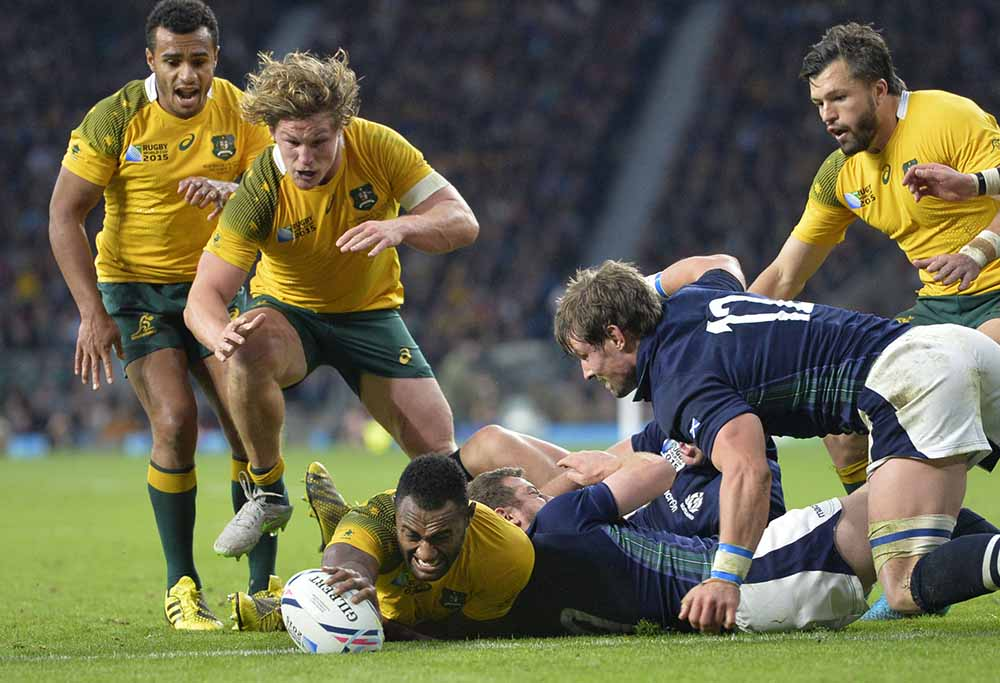 Scotland are a top team - Cheika