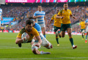 Wallabies vs Argentina <br /> <a href='http://www.theroar.com.au/2015/10/26/wallabies-qualify-for-rugby-world-cup-final-with-tense-win-over-pumas/'>Wallabies qualify for Rugby World Cup final with tense win over Pumas</a>
