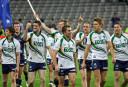 Australia celebrates defeating Ireland 2010 International Rules AFL GAA <br /> <a href='http://www.theroar.com.au/2015/11/22/ireland-vs-australia-international-rules-test-live-scores-blog/'>Ireland vs Australia International Rules highlights: Irish hold on after three first-half goals</a>