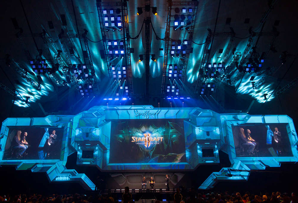 Starcraft II Stage at Blizzcon