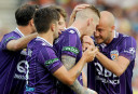 Perth Glory vs Melbourne Victory highlights: Glory fight back to win 2-1