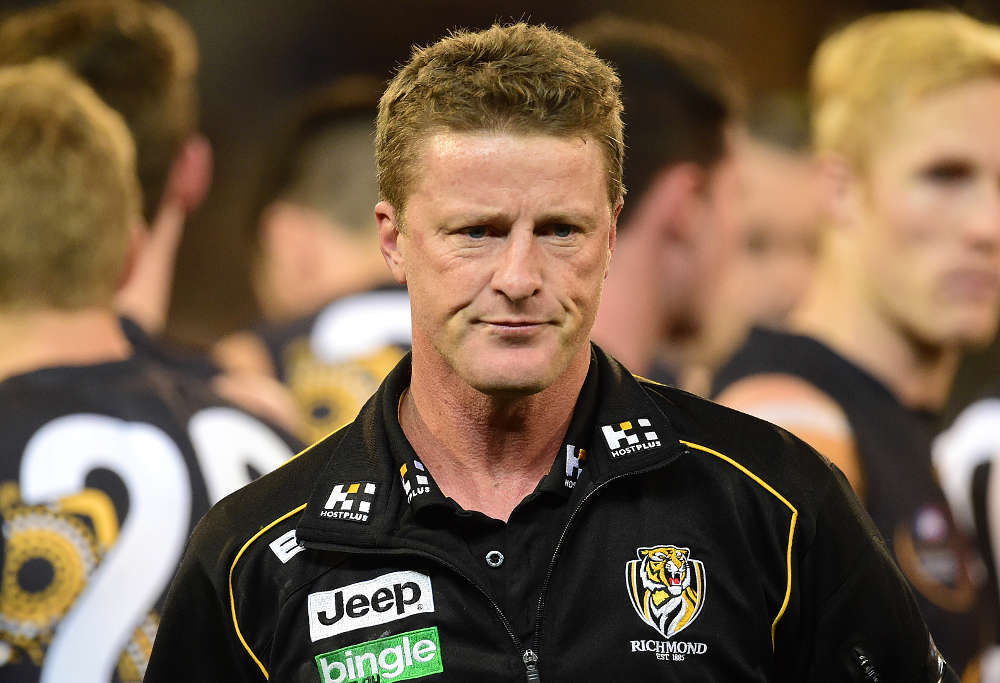 Richmond coach Damien Hardwick