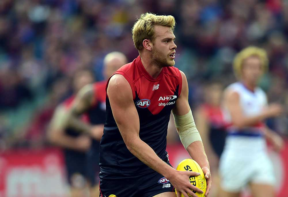 Melbourne Demons player Jack Watts