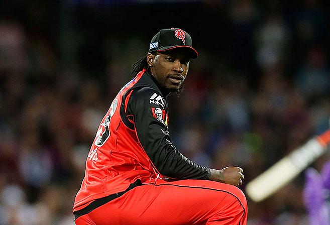 Melbourne Renegades batsman Chris Gayle