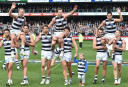 James Kelly Steve Johnson Mathew Stokes Geelong Cats AFL <br /> <a href='http://www.theroar.com.au/2016/01/12/potential-essendon-top-up-players-could-kelly-stokes-or-lake-return-to-the-afl/'>Potential top-up Bombers: Could Kelly, Stokes or Lake return?</a>