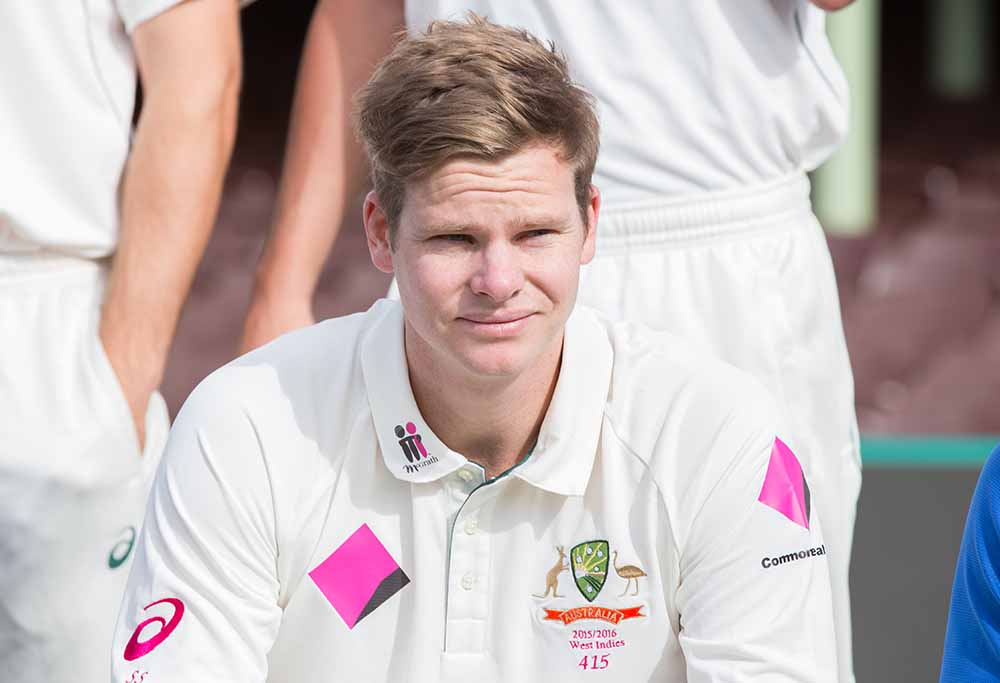 Australian Test skipper Steve Smith