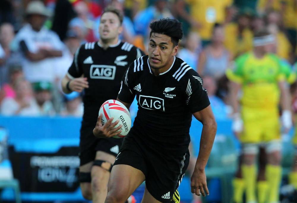 Rieko Ioane for New Zealand at Sydney Sevens