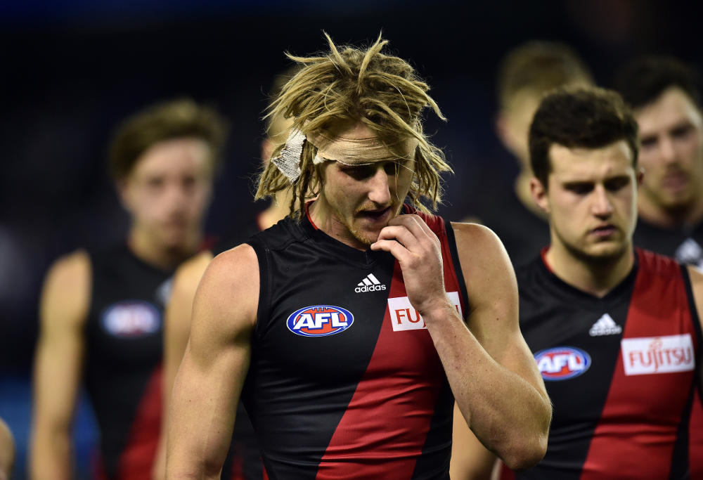 Essendon Bombers player Dyson Heppell
