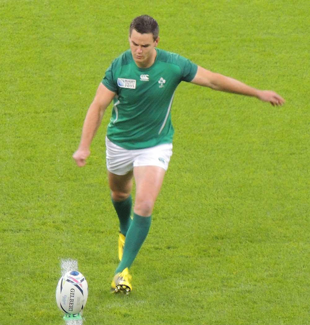 Irish rugby union player Jonathan Sexton