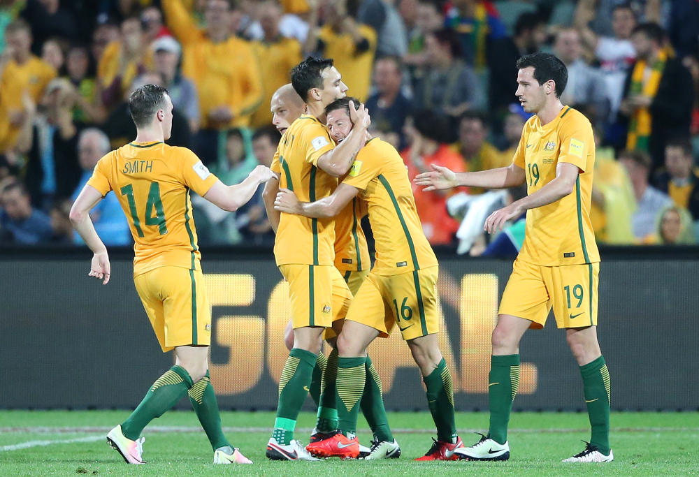 Nathan Burns Australia Football Socceroos 2016