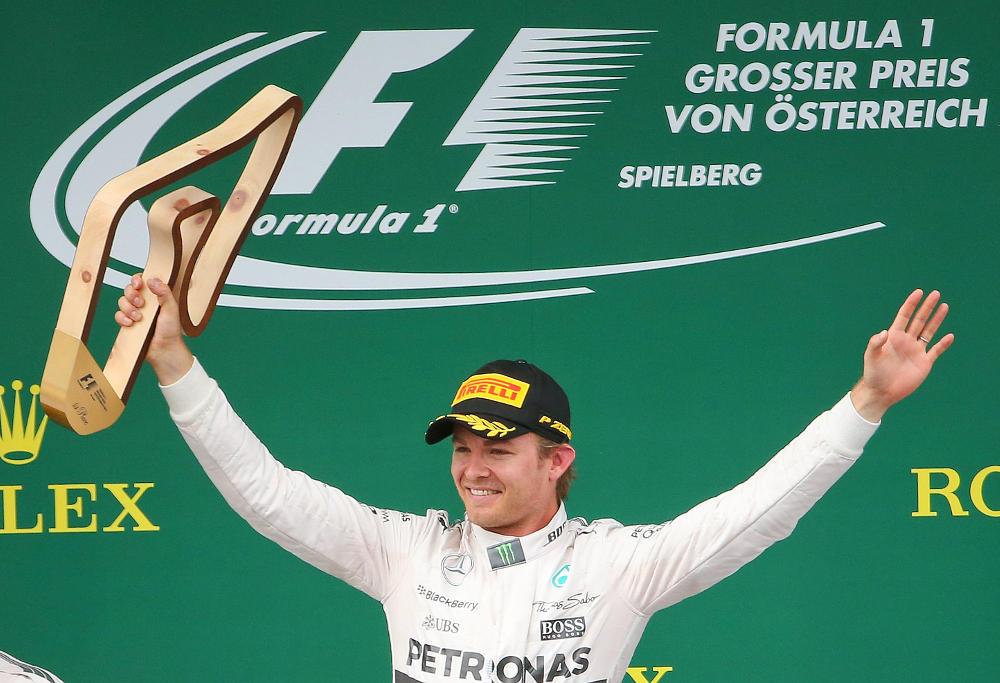 Nico Rosberg trophy
